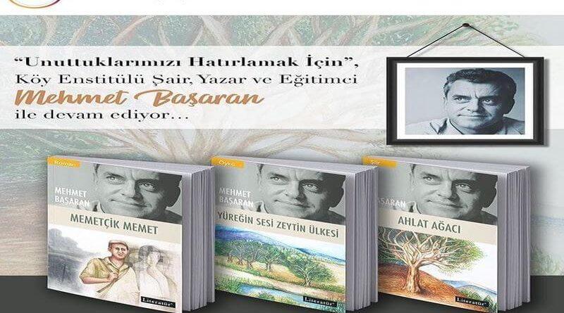 Mehmet Başaran'ın kitapları yeniden yayınlanıyor